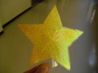 手作りの星