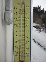 外の気温2℃