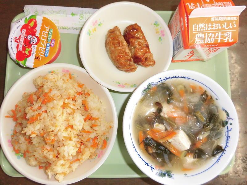 ゼリー 給食 アセロラ 今日の給食/兵庫県太子町ホームページ